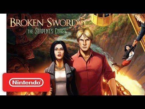 Broken Sword 5 - The Serpent's Curse - Launch Trailer - Nintendo Switch