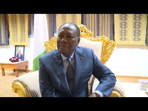 Le Chef de l'Etat s'est exprimé à son l'arrivée à ADDIS-ABEBA (Ethiopie)