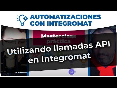 Utilizando llamadas API con Integromat | #Automatización