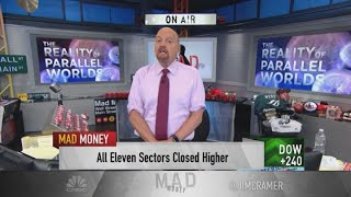Cramer: The underlying economy is good, but fear will drive us into recession