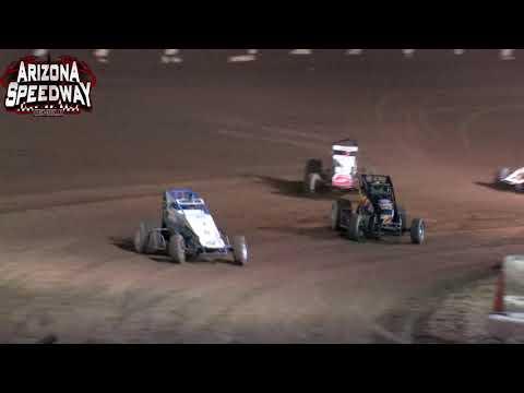 Az Speedway  ASCS Desert Sprint Car Main   10.4.21 - dirt track racing video image