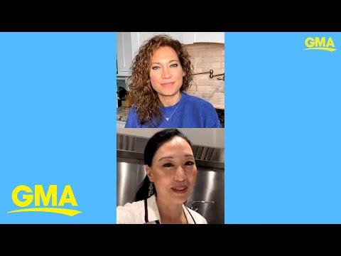 'GMA' Easy Eats: Chef Judy Joo shares her brown shrimp and broccoli dumplings recipe | GMA