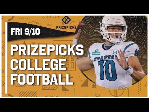 Week 2 CFB DFS Picks & PrizePicks Top College Football Plays   Coastal Carolina & Jaivon Heiligh