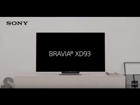 Der neue 4K HDR Fernseher - BRAVIA XD93
