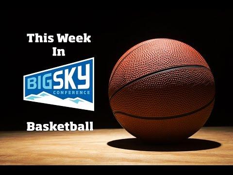 This Week In Big Sky Basketball - Jan. 24, 2017