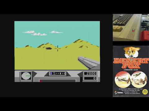 Juegos Épicos - Deserrt Fox - Commodore 64 real