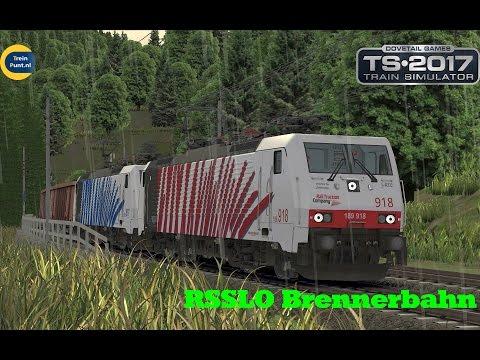 RSSLO Brennerbahn In Rain | vR BR189 918 Lokomotion | Train Simulator 2017