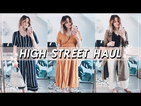 SPRING HIGH STREET HAUL + TRY ON | ZARA, TOPSHOP, URBAN OUTFITTERS, MANGO | I Covet Thee