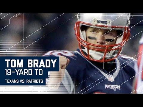 Tom Brady Leads Impressive 90-yard TD Drive! | Texans vs. Patriots | NFL Divisional Highlights