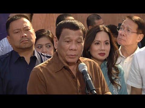 Supply ng tubig sa mga apektadong lugar sa Metro Manila para sa 150 araw, ipinalalabas ng Pangulo