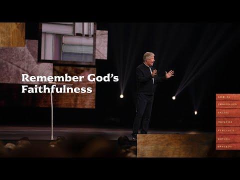 Gateway Church Live  Remember Gods Faithfulness by Pastor Robert Morris  October 10