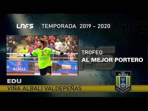 Edu Sousa, Trofeo 'Mejor Portero' de la LNFS la Temporada 2019/20