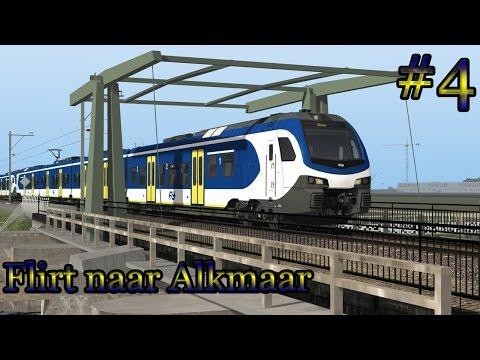 Flirt3 naar Alkmaar - Train Simulator 2017 (Livestream #4)