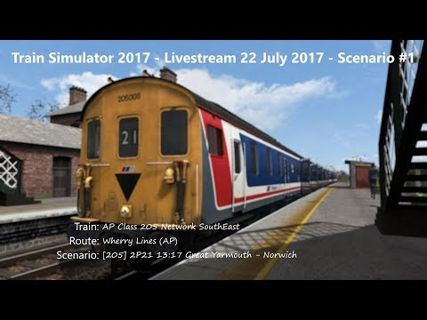 205 2P21 1317 Great Yarmouth  Norwich Livestream 220717