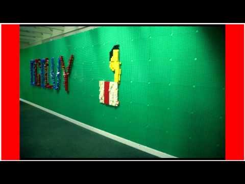 #MyFutureFirst Students' Lego Wall