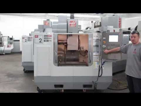 Haas VF-2 30,000 RPM CNC Vertical Machining Center w Tool Probe