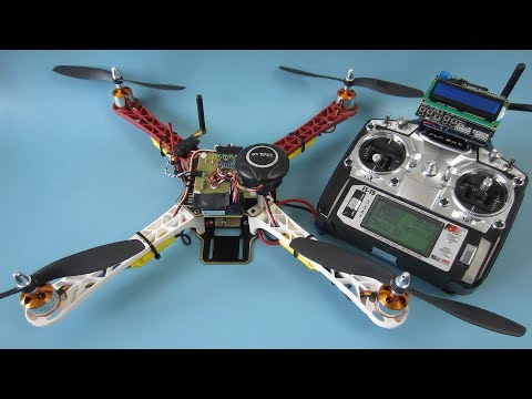 How to build the YMFC-32 GPS hold quadcopter - With free Arduino code and schematics - UCpJ5uKSLxP84TXQtwiRNm1g