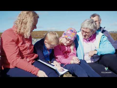 Vandring i Telemark, til Falkeriset i Rauland