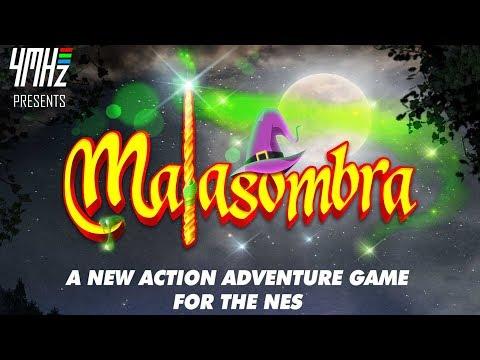 MALASOMBRA NES ENTREVISTA 4Mhz