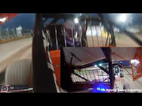 Chase Viebrock In Car Video - Cedar Lake Speedway 09/11/2021 - dirt track racing video image