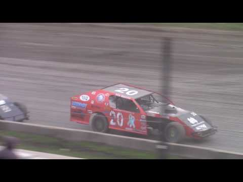 WISSOTA Midwest Modifieds Feature Red River Co op Speedway June 22, 2017 - dirt track racing video image