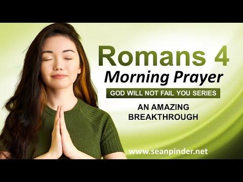 An Amazing BREAKTHROUGH - Morning Prayer
