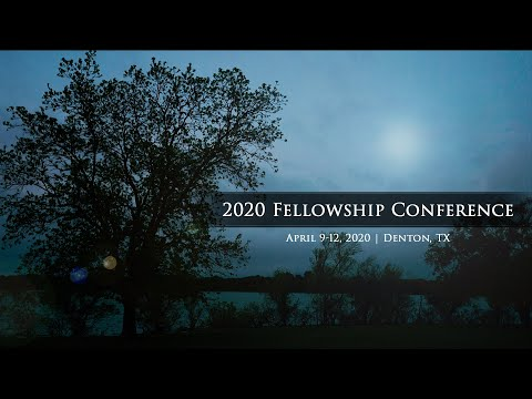 Lord, Help Me to Grow  2020 Fellowship Conference Trailer