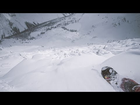 GoPro Snow:  Epic BC Backcountry Snowboarding with Travis Rice