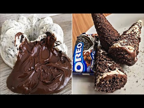 Easy And Delicious Chocolate Cake Decorating Ideas | How To Make Chocolate Cake Decorating Ideas