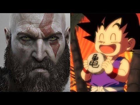 Kid Goku VS Kratos Power Levels (God of War VS Dragon Ball Super)