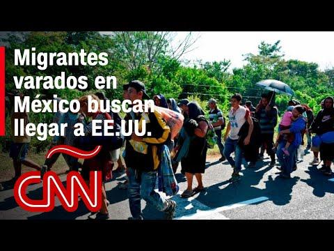 Los migrantes varados en México están dispuestos a llegar este año a EE.UU.