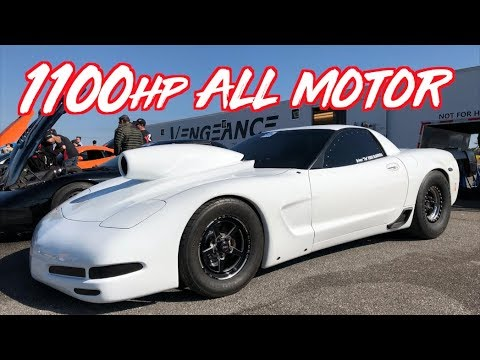 1100HP ALL MOTOR LS Corvette! Worlds Fastest Naturally Aspirated LS