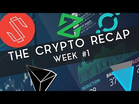 The Crypto Recap | Week #1 (XVG, SUB, & more!)