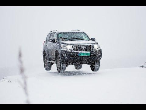 Toyota Land Cruiser testkjøring Lierskogen