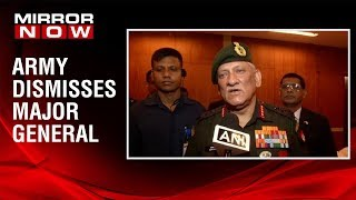 Army Chief Bipin Rawat confirms dismissal of Major General in sexual harassment case