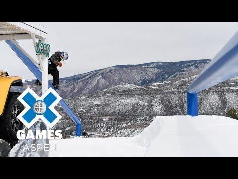 Men's Snowboard Slopestyle: FULL BROADCAST | X Games Aspen 2018 - UCxFt75OIIvoN4AaL7lJxtTg