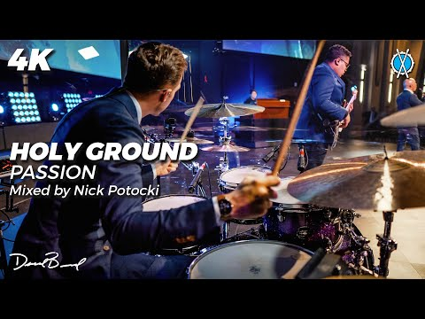 Holy Ground Drum Cover // Passion // Mixed by Nick Potocki
