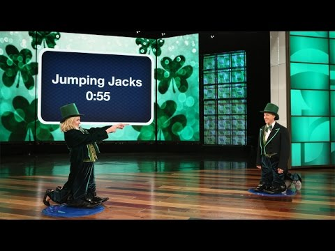 Ellen and Kristen Bell Play a St. Patrick's Day Version of 'Heads Up!'