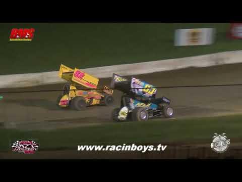 Lucas Oil ASCS Highlights  Batesville Motor Speedway  7 23 21 - dirt track racing video image