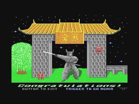 Commodore 64: Black Panther game ending by CP Verlag