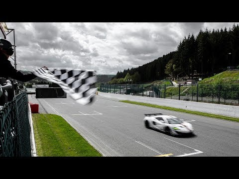 Pure McLaren-GT Series launches at Spa