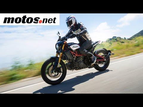 Indian FTR 1200 S 2019 | Presentación / Primera prueba / Test / Review en español HD