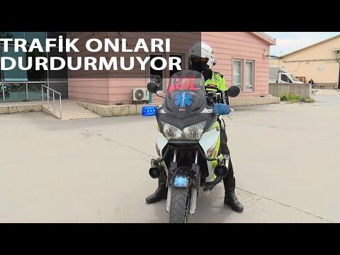 112 Acil'in Motorize Ekipleri Hayat Kurtarıyor