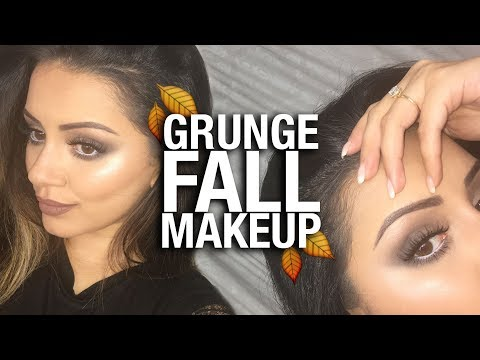 GRUNGE FALL MAKEUP TUTORIAL + 2 Lip Options ? Milk1422 Inspired