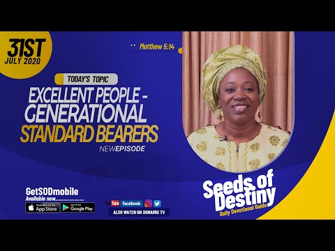 Dr Becky Paul-Enenche - SEEDS OF DESTINY - FRIDAY JULY 31, 2020