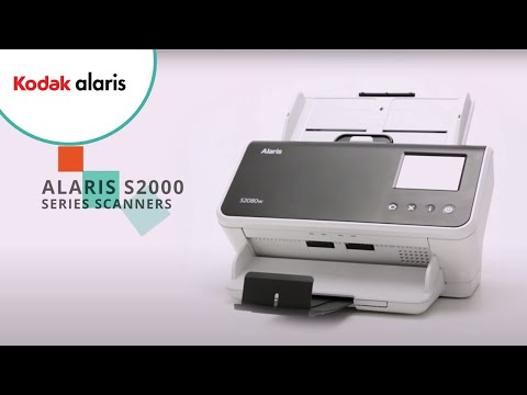 Innovative Desktop Scanners | Kodak S2000 Series | Alaris Information Management Preview