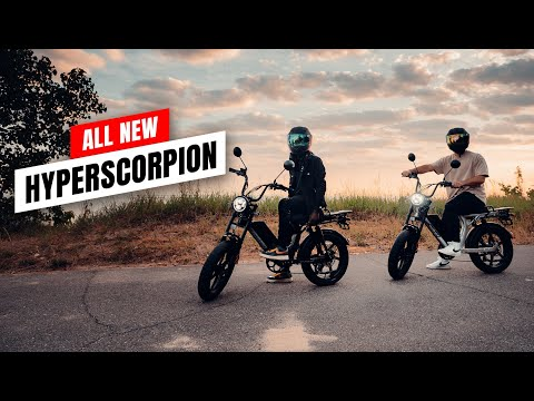 The All New Juiced HyperScorpion E-Bike