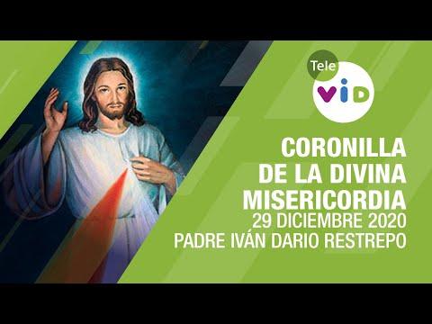 Coronilla de la Divina Misericordia 🎄 Martes 29 Diciembre 2020, Padre Iván Dario Restrepo – Tele VID