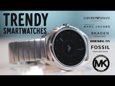 ARVONTA! Fossil design-älykellot - Michael Kors, Armani, Fossil, Marc Jacobs, Diesel, Skagen