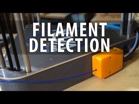 Filament Detection Sensors on 3D Printers are Cool as Shown on Dagoma Neva delta 3D Printer